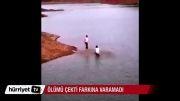 آژانس خبری ایرانیان غرق شدن دو دختر به تصویر کشیده شد (