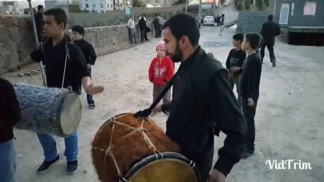 گروه موزیک دماوند در روز اول محرم سال 1394