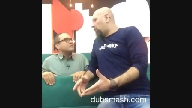 کلیپ خنده دار جناب خان و رامبد جوان