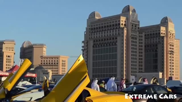 گرد همایی بزرگ ترین سوپر اسپرت های جهان