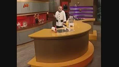 تارت موز و توت فرنگی- آموزش آشپزی