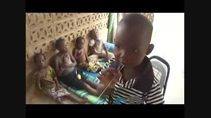 عزاداری زیبا کودکان