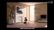 تخت خواب های دیواری -ایده ای خوب برای خانه های کوچک