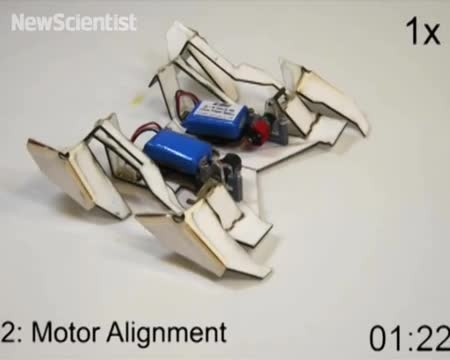 میکرو ربات کاغذی یا اوریگامی + فیلم