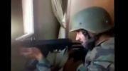 کشته شدن سرباز ارتش سوریه توسط تک تیرانداز تروریست های وهابی