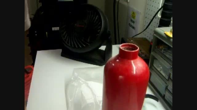 چگونگی دوباره پر کردن کپسول آتش نشانی