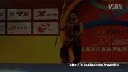 ووشو ، اجرای فرم نن گوون توسط وان دی قهرمان برجسته چین