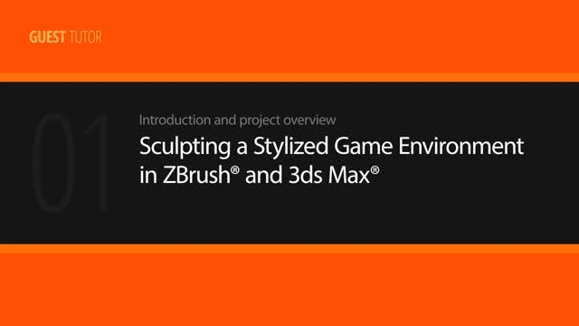 Sculpting a Stylized Game Environment in ZBrush