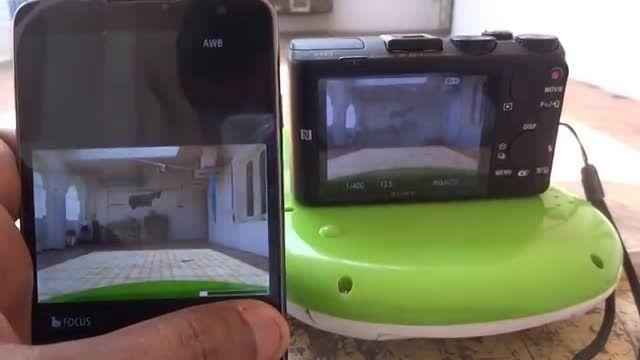 Sony Cyber-shot Camera DSC-HX60V ZOOM Test with wifi co
