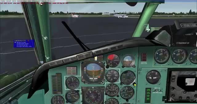 تجربه پرواز با هواپیمای توپولف 154 در شبیه ساز پرواز