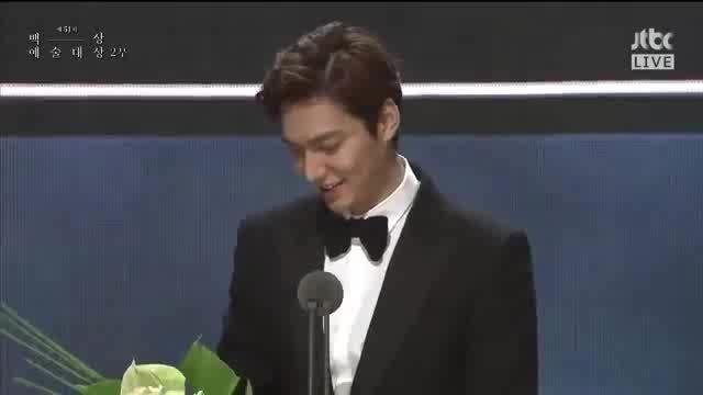 لی مین هو در مرلسم بهترین بازیگر مرد