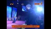 هومن سیدی جایزه خود را به حسن روحانی تقدیم کرد (جشنواره فجر)
