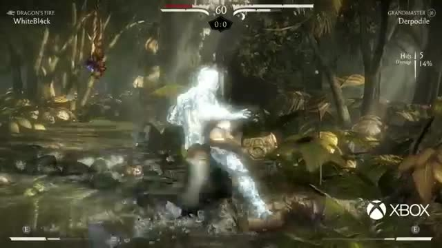 MKX Fight - LiuKang vs Subzero/Ermac