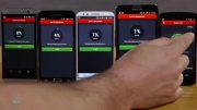 Galaxy S5 VS HTC One M8 VS Note 3 VS LG G2 Benchmark