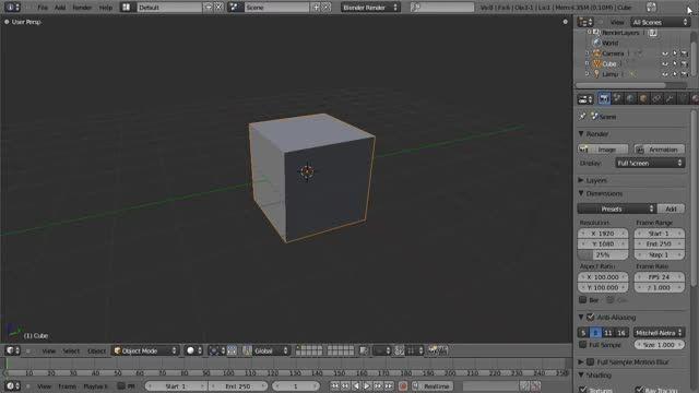 ۱۴ − سری آموزشی مدلینگ در Blender از CGCookie