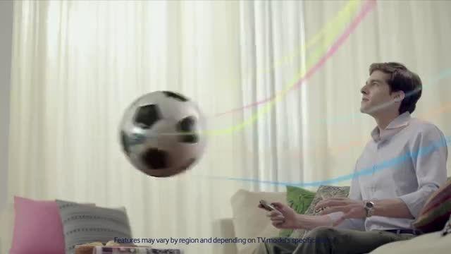 حالت فوتبال در تلویزیون سامسونگ