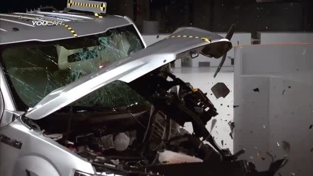 تست تصادف تراک فورد اف 150 جدید