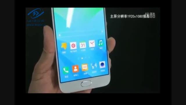 کار با گوشی Samsung Galaxy A8