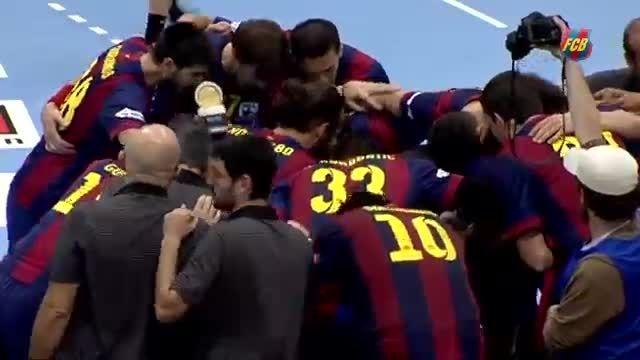 قهرمانی تیم هندبال بارسلونا