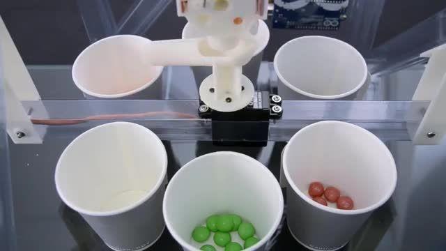 ساخت دستگاه مرتب ساز قطعه - کافه ربات