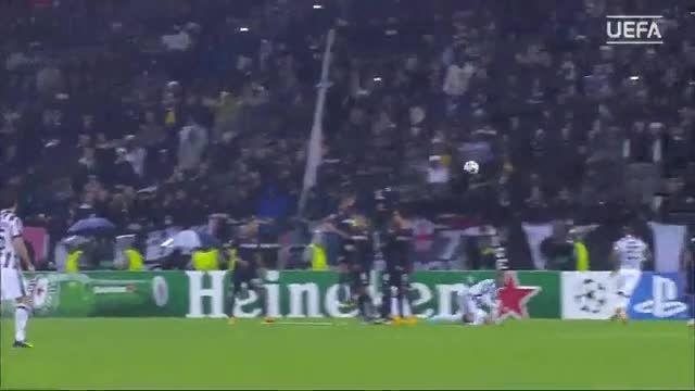 5 گل برتر کاشته در لیگ قهرمانان اروپا | 2014/2015