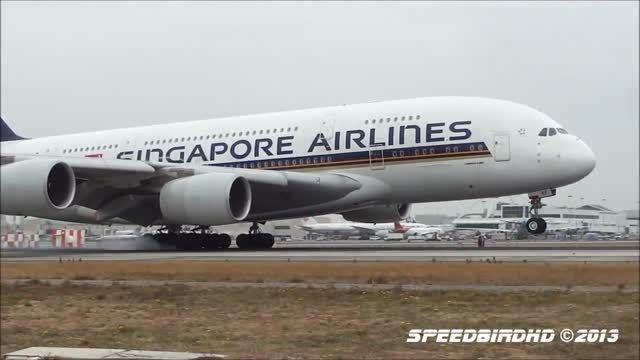 کدام ایرلاین با هواپیمای AirBus A380 لندینگ بهتری دارد؟