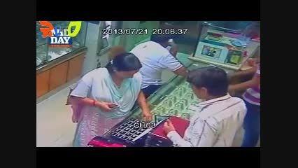 یه خانم فوق دزد از طلافروشی حتما ببینید