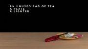 آزمایش به پرواز در آوردن چای کیسه ای