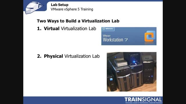 Lesson 02 - LAB Setup VMware vSphere 5