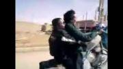 تک چرخ زدن با موتور------ افغانی--------