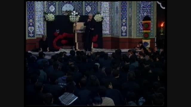 شب نهم- محرم 94- حاج جواد رسولی -حسینیه اعظم زنجان