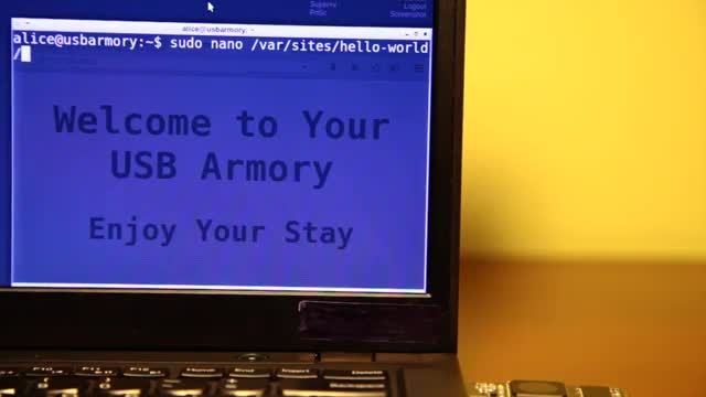 USB Armory یك مینی پی سی با كارایی بسیار بالا