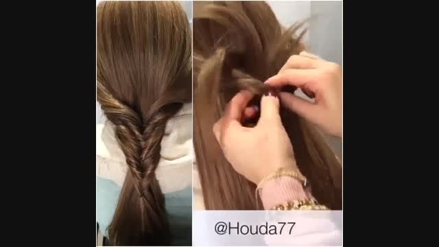 کلیپ درست کردن موی بسیار زیبا و ساده !