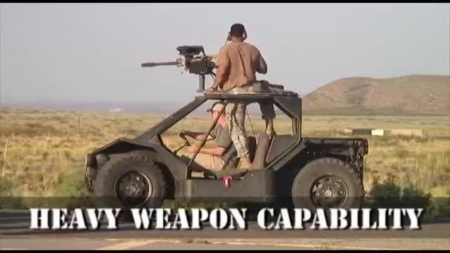 Hybrid-Defend Recon Assault Vehicle Hy-DRA