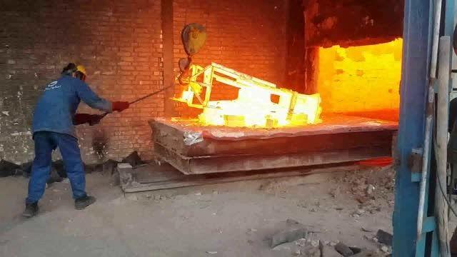ریخته گری و عملیات حرارتی فولاد دوپلکس A890