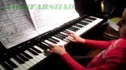 پیانو توسط امیرفرشاد 9 ساله از تهران / سنفونی جادوگر بدجنس