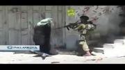 پیرمرد شجاع فلسطینی مقابل اسرائیلی ها