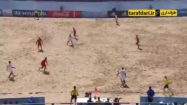تاهیتی 4-3 ماداگاسکار (جام جهانی فوتبال ساحلی)