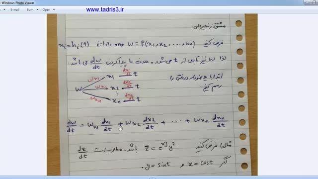 آموزش ریاضی عمومی 2 جلسه چهارم