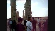 تخت جمشید پارسه پرسپولیس درکازه ی ملل خشایارشاه شاه شاه