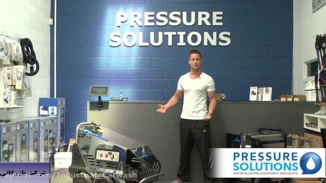 کارواش صنعتی - واترجت آب گرم - دستگاه فشار قوی آب