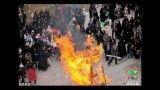 مسیر آبلیسک سوزی در راهپیمایی روز قدس 1391