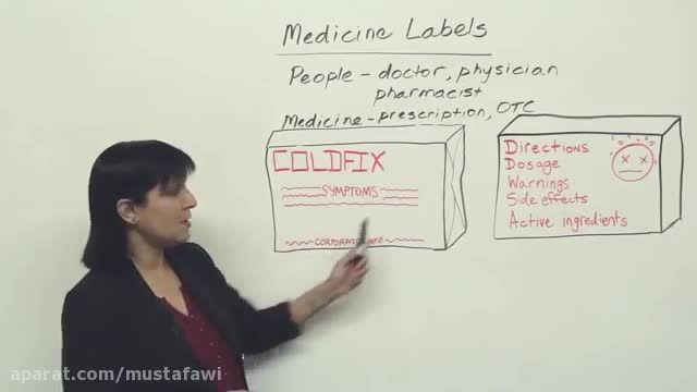 آموزش کلمات جدید زبان انگلیسی (پزشکی) 3