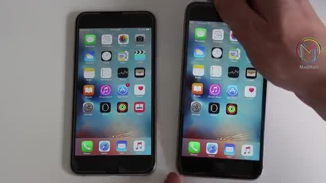 مقایسه تاچ آیدی  iPhone 6s Plus VS iPhone 6 Plus