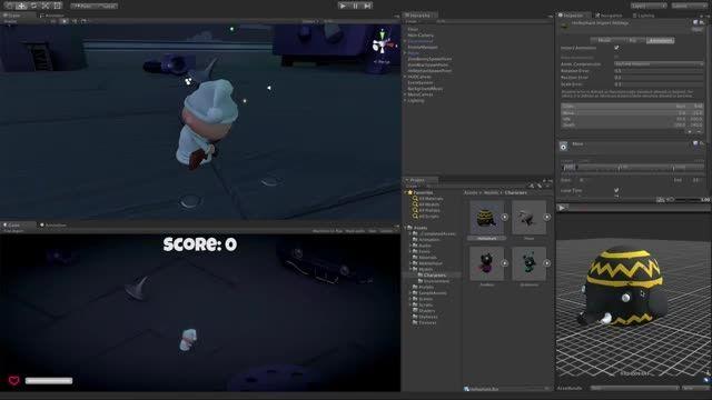 سری آموزشی Unity3d (نکته ها)- Undock کردن پنجره Preview