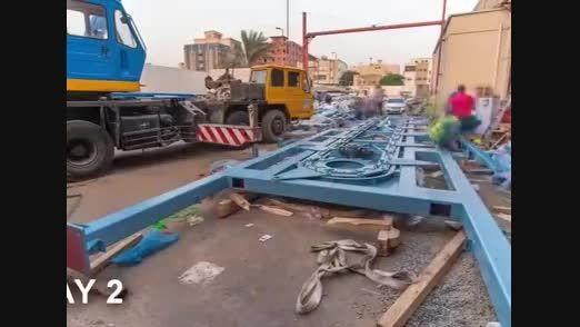 احداث پارکینگ مکانیزه طبقاتی