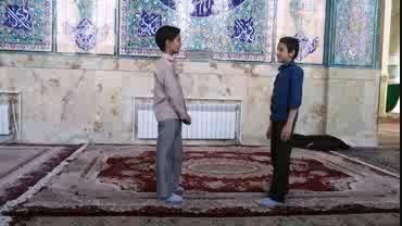 ویدئو آموزشی دانش آموزان: عرفان، عارف و محسن جزینی
