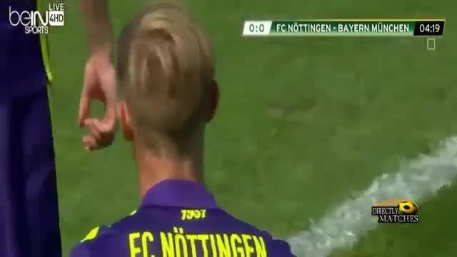 نوتینگن 1-3 بایرن مونیخ - جام حذفی المان (هایلایت بازی)