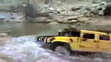 شنا کردن اتومبیل hummer