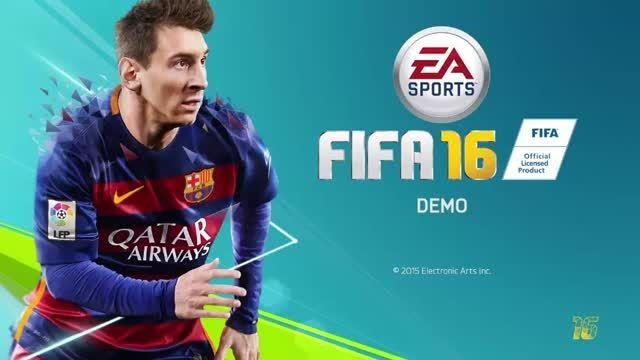 گیم پلی FIFA 16 DEMO